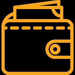 Rahakott - ikoon