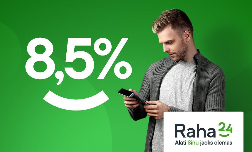 Raha24 - 8,5%