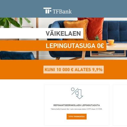 TF Bank kampaania